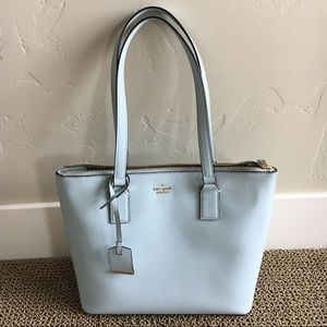USED Baby Blue Kate Spade Handbag